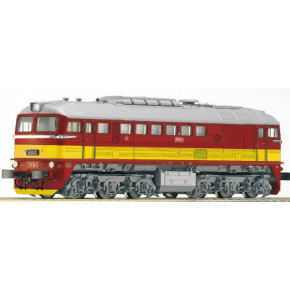 Locomotive T781 CSD Roco HO