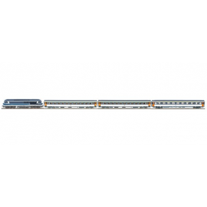 Rame cc72048+voiture corail SNCF Roco HO