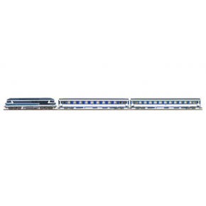 Rame cc72048+voiture lit SNCF Roco HO