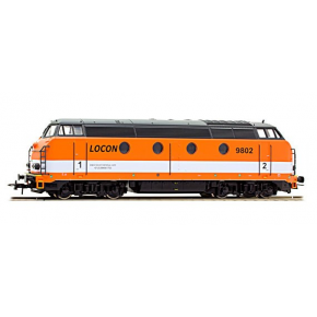 locomotive 62 9802 LOCON Roco HO