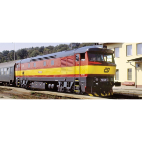 Locomotive Rh751 CD Roco HO