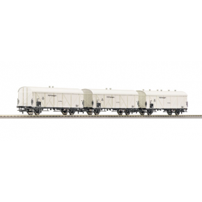 Set 3 wagons refigerants DB Roco HO