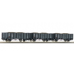 Set 3 wagons tomberaux CFL Roco HO