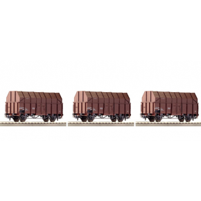 Set 3 wagons tremie OBB Roco HO
