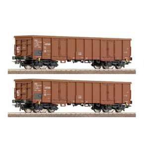 set 2 wagons tomberaux CD Roco HO