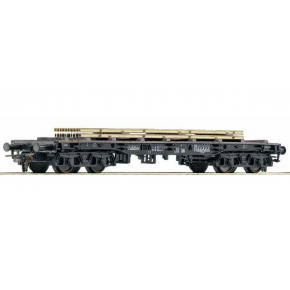 Wagon plat rails Us NS Roco HO